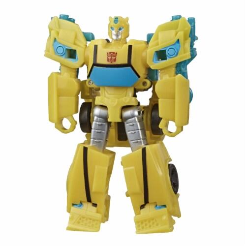 Hasbro Transformers Bumblebee Cyberverse Adventures Action Figure Perspective: bottom