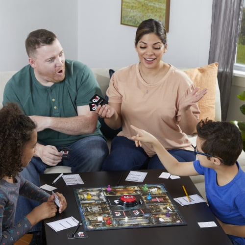 Hasbro Gaming Clue: Liars Edition Board Game Perspective: bottom