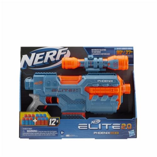 Nerf Elite 2.0 Phoenix CS-6 Motorized Blaster Perspective: bottom