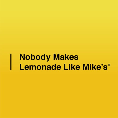Mike's Hard Peach Lemonade Perspective: bottom
