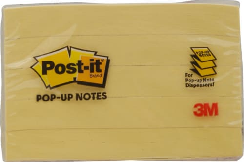 Post-it® Pop-up Notes Perspective: bottom