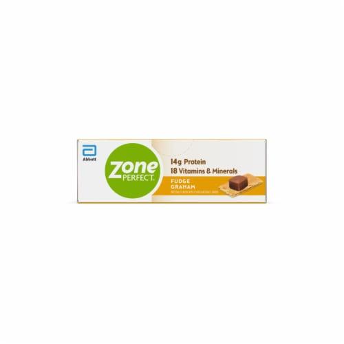 ZonePerfect Fudge Graham Nutrition Bars Perspective: bottom