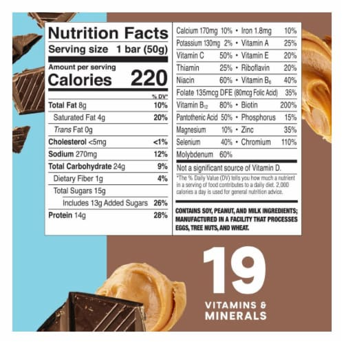 ZonePerfect Chocolate Peanut Butter Nutrition Bars Perspective: bottom