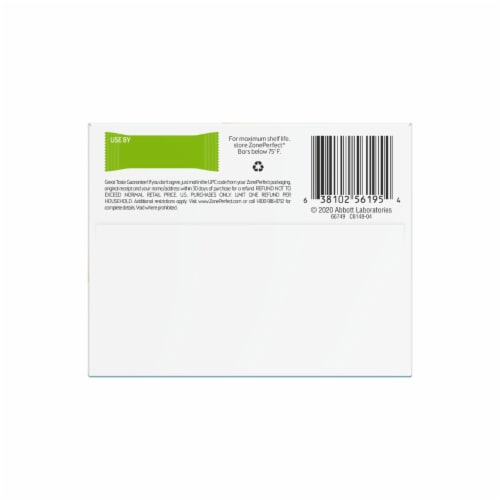 ZonePerfect Double Dark Chocolate Nutrition Bars Perspective: bottom