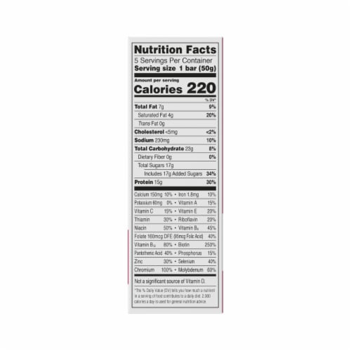ZonePerfect® Cinnamon Roll Nutrition Bars Perspective: bottom
