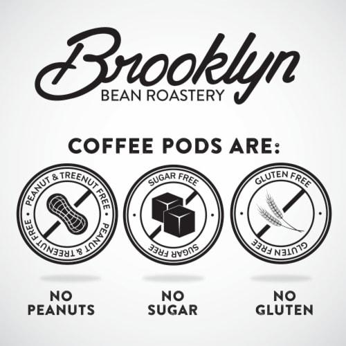 Brooklyn Bean Roastery Coffee Fuhgeddaboutit Single-Serve Cups Perspective: bottom