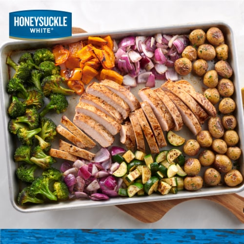 Honeysuckle White Rotisserie Flavor Turkey Breast Tenderloins Perspective: bottom