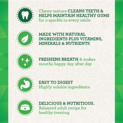 Greenies™ Original Regular Sized Dental Dog Treats Perspective: bottom