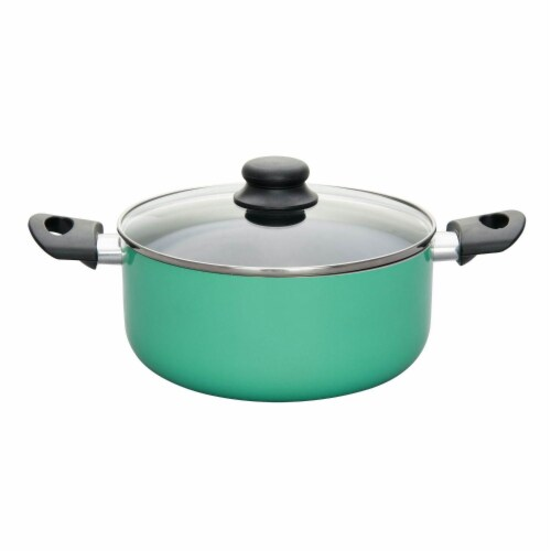 Proctor Silex 8 Piece Multi Color Aluminum Kitchen Pots & Pans Cookware Set Perspective: bottom