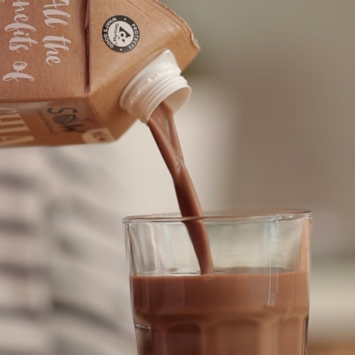 Seeds of Wellness Chia Chocolate Non-Dairy Beverage Perspective: bottom