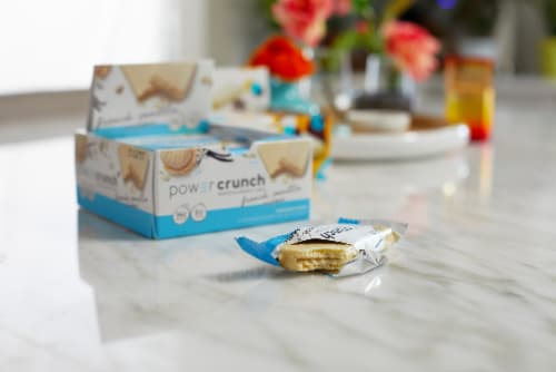 Power Crunch® French Vanilla Creme Protein Energy Bar Perspective: bottom