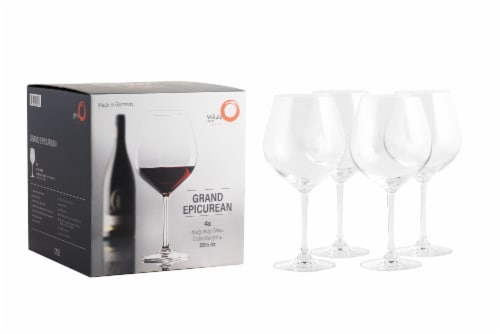 Stolzle Lausitz Grand Epicurean Burgundy Wine Glasses Perspective: bottom