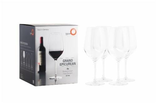 Stolzle Lausitz Grand Epicurean Bordeaux Wine Glasses Perspective: bottom