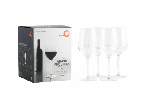 Stolzle Lausitz Grand Epicurean Red Wine Glasses Perspective: bottom