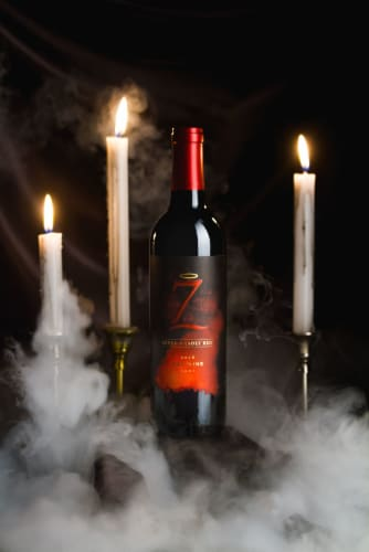 Seven Deadly Red Blend Wine Perspective: bottom
