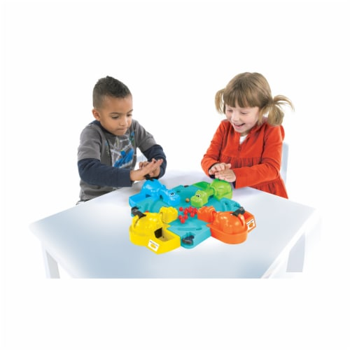 Hasbro Hungry Hungry Hippos Game Perspective: bottom