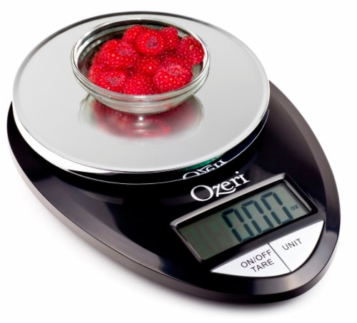 Ozeri Pro Digital Kitchen Food Scale, 0.05 oz to 12 lbs (1 gram to 5.4 kg) Perspective: bottom