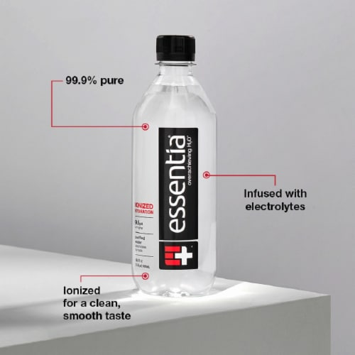 Essentia® Purified Water Perspective: bottom
