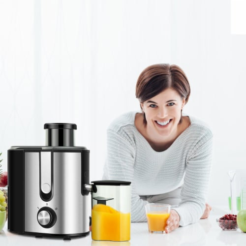 Costway Juicer Machine Juicer Extractor Dual Speed w/ 2.5'' Feed Chute Perspective: bottom