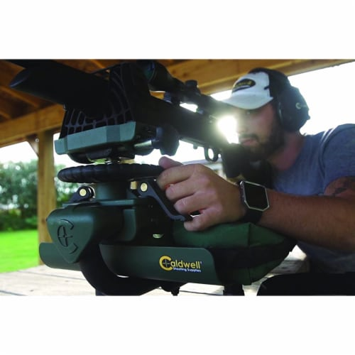 Caldwell Lead Sled 2 Outdoor Range Adjustable Ambidextrous Rifle Shooting Rest Perspective: bottom