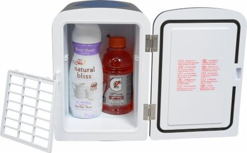 Uber Appliance Mini Fridge 6-can portable refrigerator|cooler/warmer|Bedroom/dorm/RV Perspective: bottom