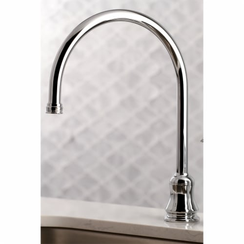 Kingston Brass KS821CSP Single-Handle Kitchen Faucet, Polished Chrome Perspective: bottom