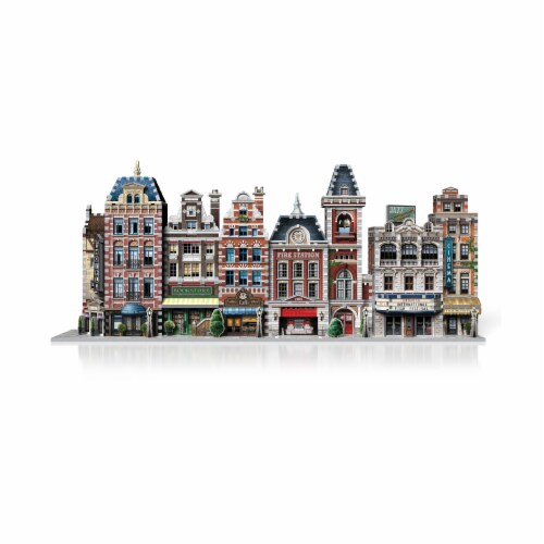 Wrebbit Urbania Collection Fire Station 3D Puzzle Perspective: bottom