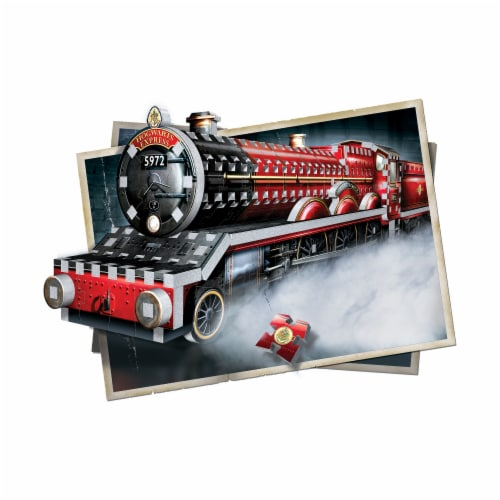 Wrebbit Harry Potter Collection Hogwarts Express 3D Puzzle Perspective: bottom