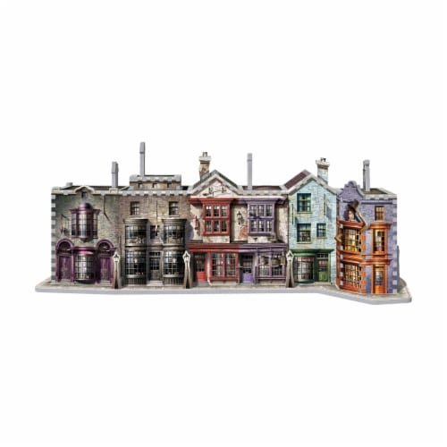 Wrebbit Harry Potter Collection Diagon Alley 3D Puzzle Perspective: bottom
