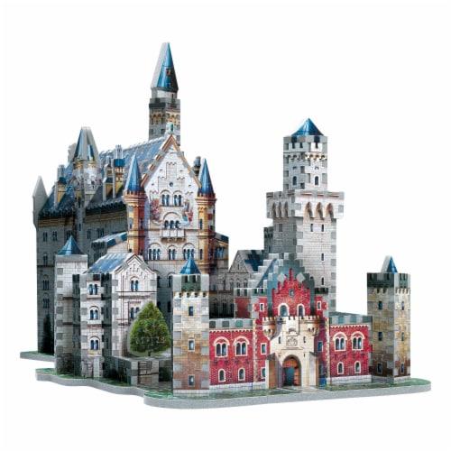Wrebbit Neuschwanstein Castle 3D Puzzle Perspective: bottom