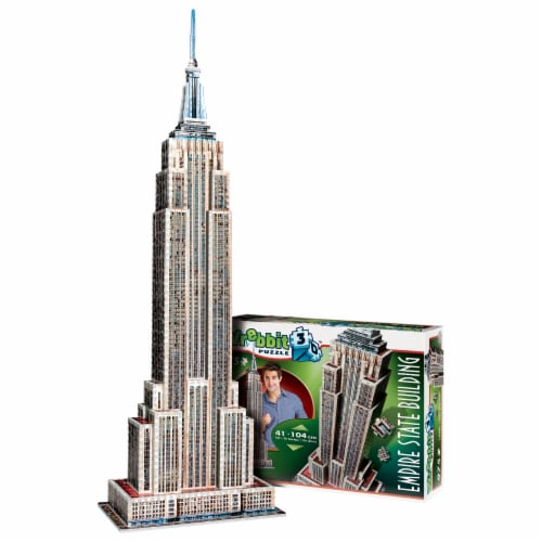 Wrebbit Empire State Building 3D Puzzle Perspective: bottom