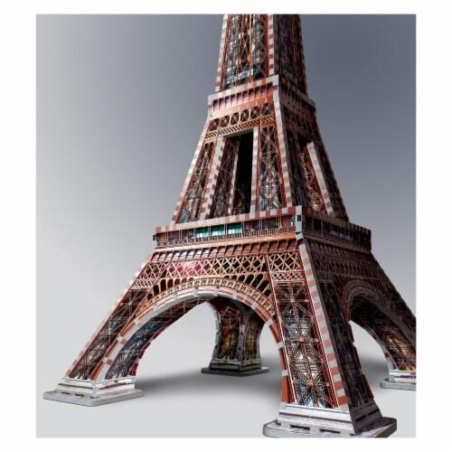 Wrebbit Eiffel Tower 3D Puzzle Perspective: bottom