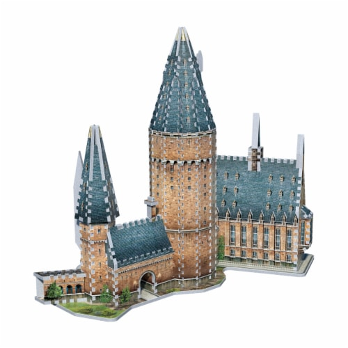 Wrebbit Harry Potter Collection Hogwarts Great Hall 3D Puzzle Perspective: bottom
