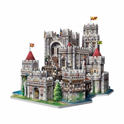 Wrebbit King Arthur Camelot 3D Puzzle Perspective: bottom