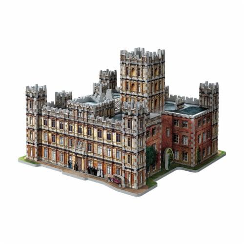 Wrebbit Downton Abbey 3D Puzzle Perspective: bottom