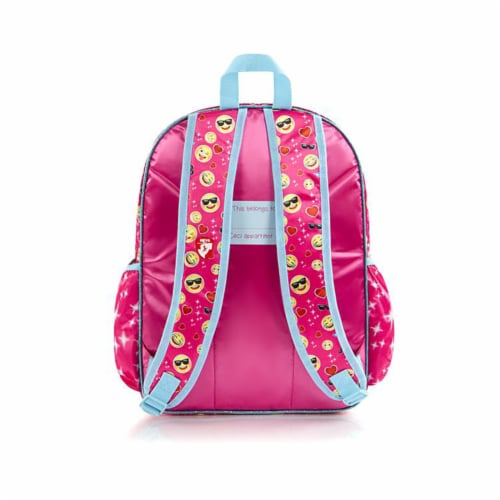 e-Motion Deluxe Pink Backpack Perspective: bottom