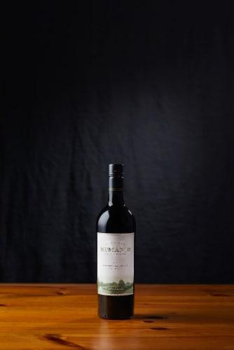 McManis Family Vineyards Cabernet Sauvignon Red Wine Perspective: bottom