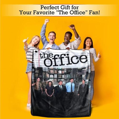 The Office Fleece Softest Throw Blanket Perspective: bottom