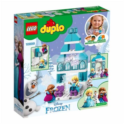 LEGO DUPLO 10899 Disney Frozen Ice Castle Building Kit 59 Pieces w/ 3 Figures Perspective: bottom