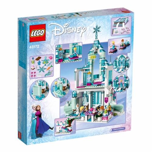 LEGO 43172 Disney Frozen Elsa's Magical Ice Palace Building Kit w/ 4 Minifigures Perspective: bottom
