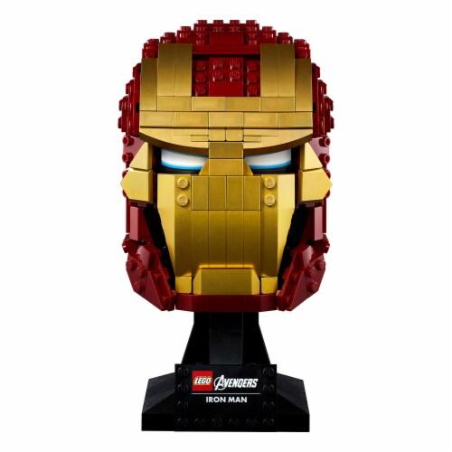 76165 LEGO® Avengers Iron Man Helmet Collectible Perspective: bottom