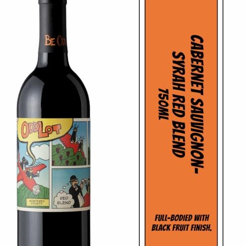 Odd Lot Cabernet Sauvignon-Syrah Red Blend Wine Perspective: bottom