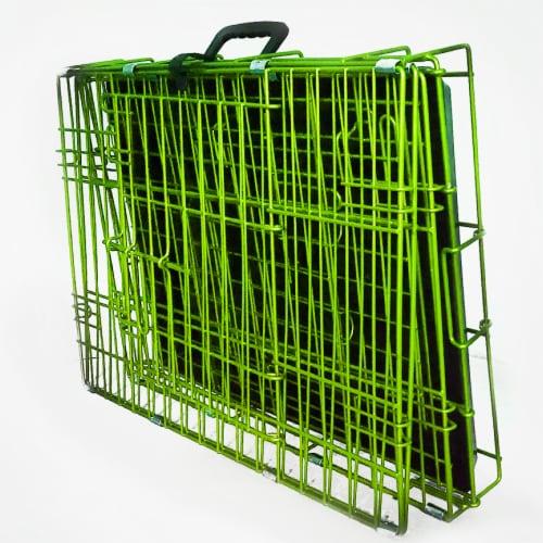 Backyard Expressions Double Door Pet Carrier Perspective: bottom