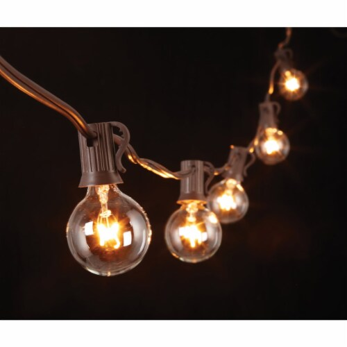Gerson 20 Ft. 20-Light Clear Bulb String Lights 2201300 Perspective: bottom