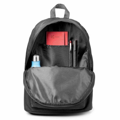 Marin Collection Backpack Black Perspective: bottom
