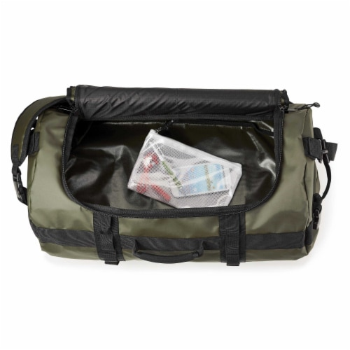 Marin Collection Water Resistant Duffle Green Perspective: bottom
