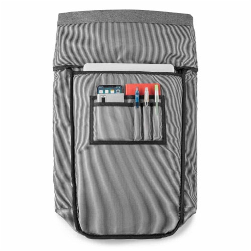 Marin Collection Backpack Grey Perspective: bottom