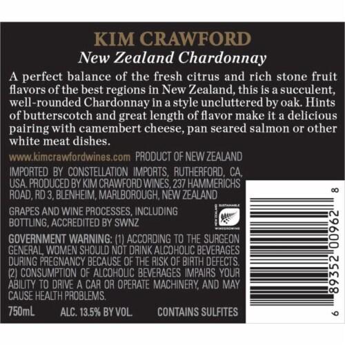 Kim Crawford Chardonnay White Wine Perspective: bottom