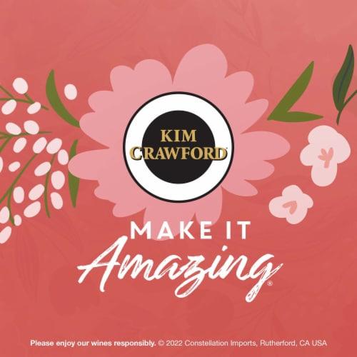 Kim Crawford Blush Rose Wine Perspective: bottom