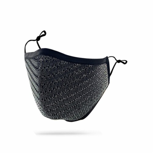 Reusable Glitter Fabric Face Masks - Assorted Perspective: bottom